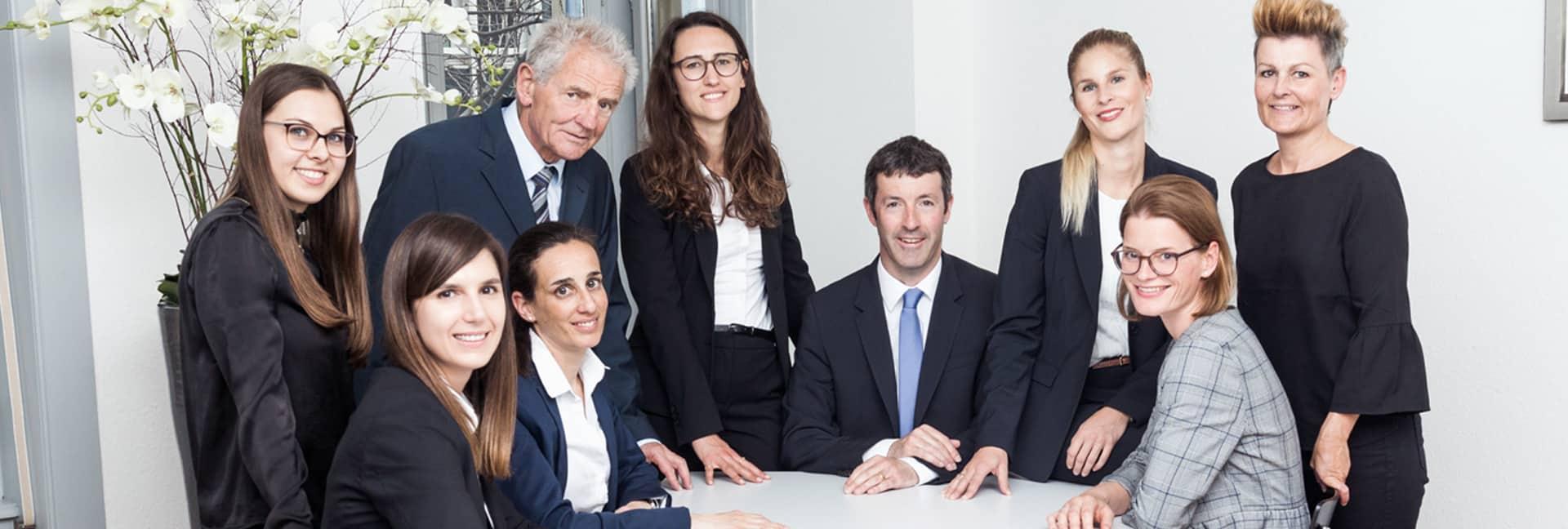 Team Anwaltskanzlei und Notariat Vetsch