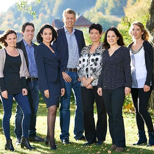 Team Augenzentrum Interlaken
